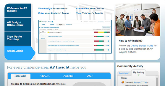 AP Insight screen image