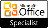 Microsoft Office Specialist Badge Image