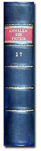 Volume 17 of Annalen der Physik