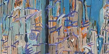 Jesse Kling, MAMARONECK HIGH SCHOOL, Mamaroneck, NY — Acrylic