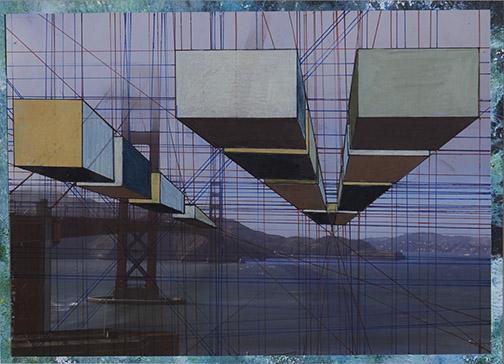 Erina Yoh, American School in Japan, Japan — Acrylic, photo, color pencils, pen