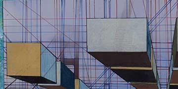 Erina Yoh, American School in Japan, Japan—Acrylic, photo, color pencils, pen