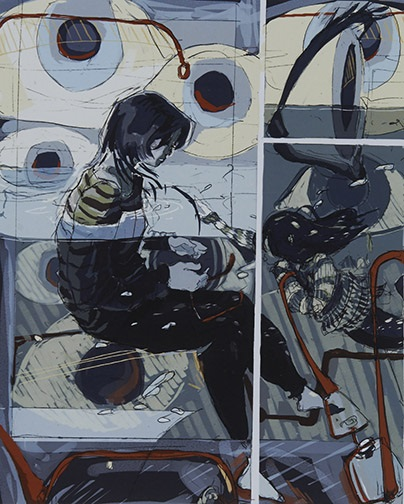 Jessie Wang, Adlai E Stevenson HS, IL — Digital Paint