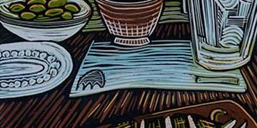 Kiersten Mercado, Douglas Anderson School of the Arts, FL—Relief print