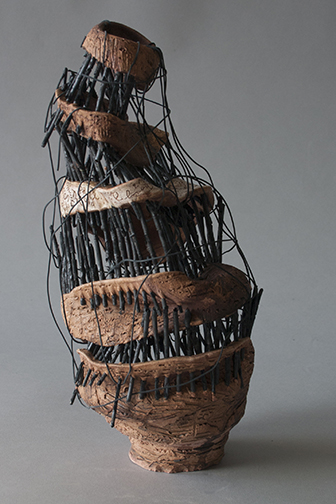 James Brosnan, Glenabard South High School, IL — Ceramic, Wire and Iron oxide
