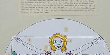 Brenna Dorsey, Louis D Brandeis HS, TX—Sharpie marker and pen on paper