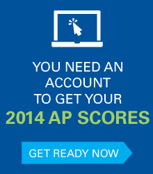 You need an account to get your 2014 AP scores