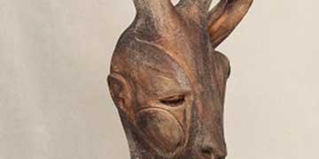 John Vaile, Archmere Academy, Hockessin, DE—Raku Clay Sculpture
