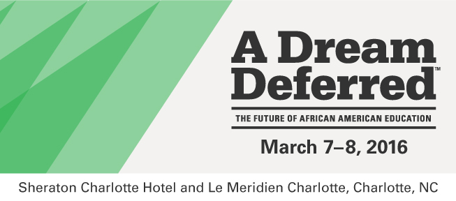 A Dream Deferred - The Future of African American Education