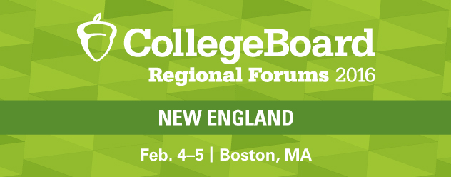 2016 NEW ENGLAND REGIONAL FORUM | FEB. 4-5, 2015, BOSTON, MA