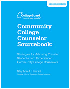 Community College Counselor Sourcebook