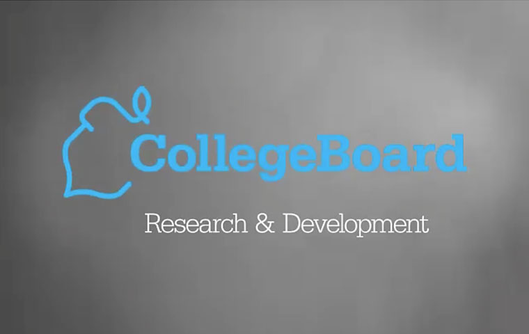 College Board R&D: Data, Development and Decisions