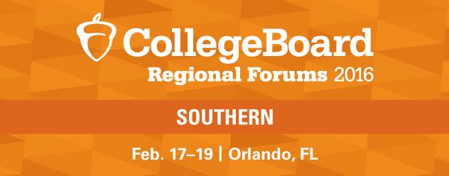 2016 Southern Regional Forum - Orlando, FL. Feb. 17-19, 2016