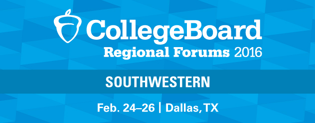 2016 Southwestern Regional Forum | FEB. 24-26, 2015, Dallas, TX