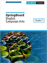 ELA Grades 6–12 – SpringBoard – The College Board